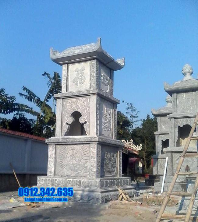 Tháp phật giáo để tro cốt tại Bến Tre