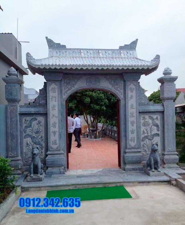 mẫu cổng nhà thờ họ tại Hải Phòng