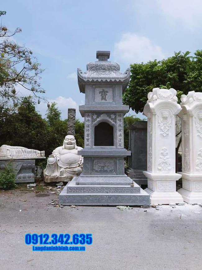 mộ tháp đá để thờ hũ tro cốt tại An Giang đẹp nhất