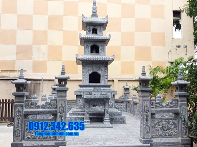 mộ tháp đá tại An Giang