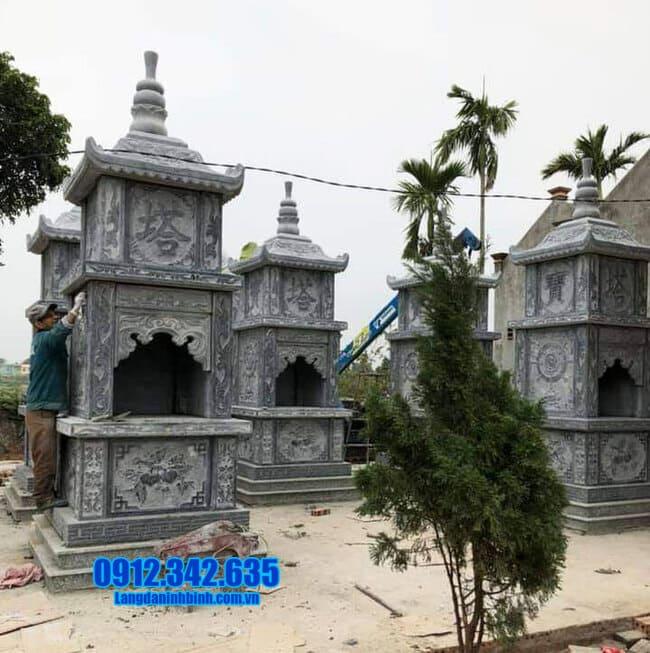 mộ tháp phật giáo tại An Giang