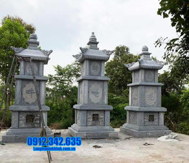 tháp mộ đá đẹp nhất để thờ hũ tro cốt tại An Giang