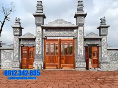 Cổng tam quan đá tại Ninh Thuận - Các mẫu cổng chùa đá tại Ninh Thuận