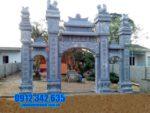 Mẫu cổng chùa bằng đá tại Phú Yên đẹp nhất - Làm cổng đá tại Phú Yên