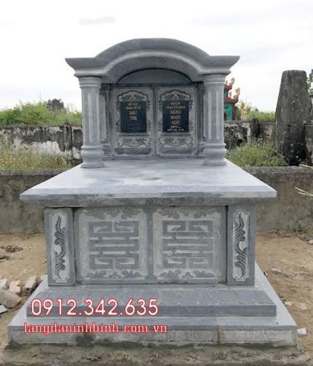 Mộ đôi bằng đá tại Khánh Hòa - mộ đôi bằng đá đẹp nhất tại Khánh Hoà 10