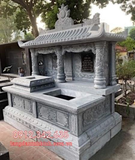 Mộ đôi bằng đá tại Khánh Hòa - mộ đôi bằng đá đẹp nhất tại Khánh Hoà 11