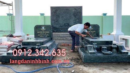 Mộ đôi bằng đá tại Khánh Hòa - mộ đôi bằng đá đẹp nhất tại Khánh Hoà 2