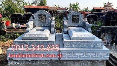 Mộ đôi bằng đá tại Khánh Hòa - mộ đôi bằng đá đẹp nhất tại Khánh Hoà 3