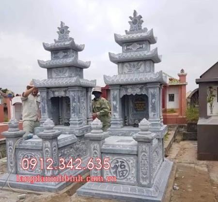Mộ đôi bằng đá tại Khánh Hòa - mộ đôi bằng đá đẹp nhất tại Khánh Hoà 4