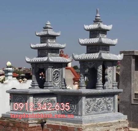 Mộ đôi bằng đá tại Khánh Hòa - mộ đôi bằng đá đẹp nhất tại Khánh Hoà 5