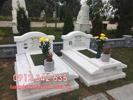 Mộ đôi bằng đá tại Khánh Hòa - mộ đôi bằng đá đẹp nhất tại Khánh Hoà 6