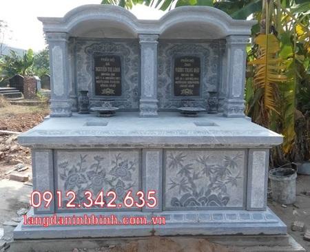 Mộ đôi bằng đá tại Khánh Hòa - mộ đôi bằng đá đẹp nhất tại Khánh Hoà 7