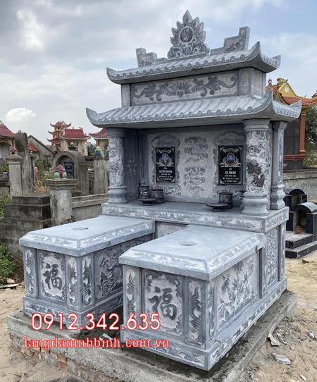 Mộ đôi bằng đá tại Khánh Hòa - mộ đôi bằng đá đẹp nhất tại Khánh Hoà 8