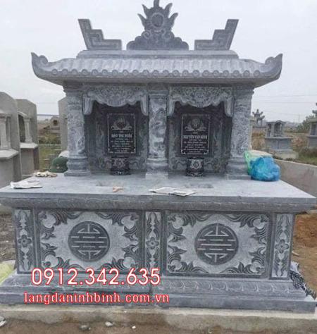Mộ đôi bằng đá tại Khánh Hòa - mộ đôi bằng đá đẹp nhất tại Khánh Hoà 12