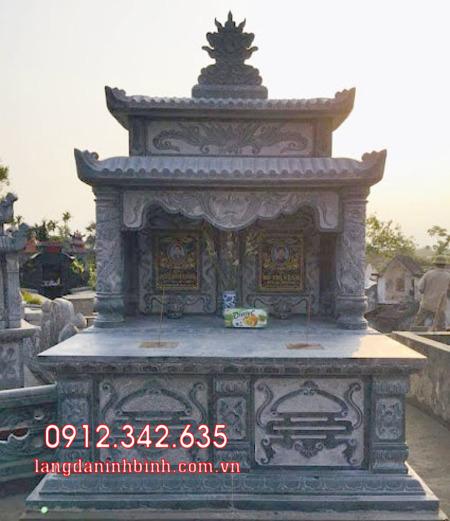 Mộ đôi bằng đá tại Khánh Hòa - mộ đôi bằng đá đẹp nhất