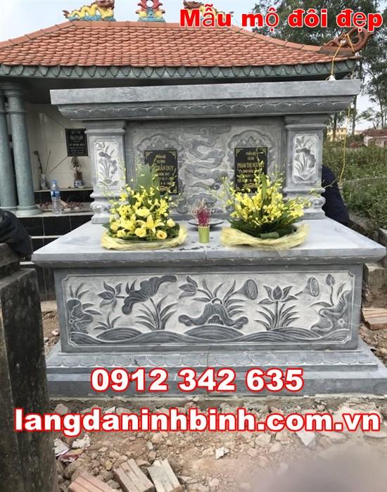 Mộ đôi đẹp tại Vĩnh Long 635