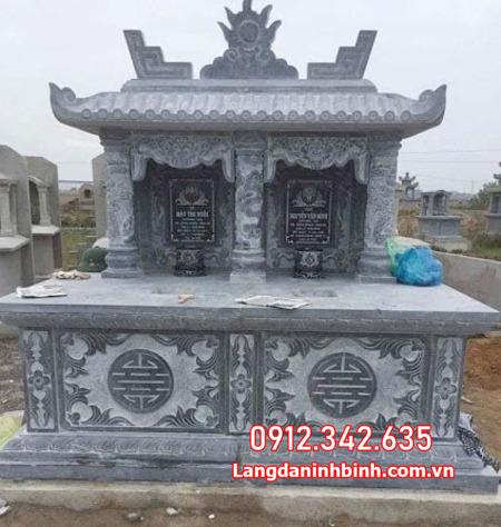 mộ đôi đá tại Ninh Thuận đẹp