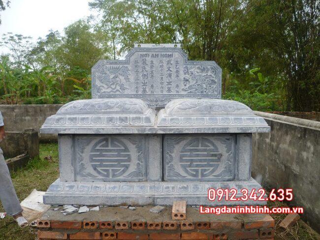 mộ đôi làm bằng đá tại Đồng Tháp đẹp nhất
