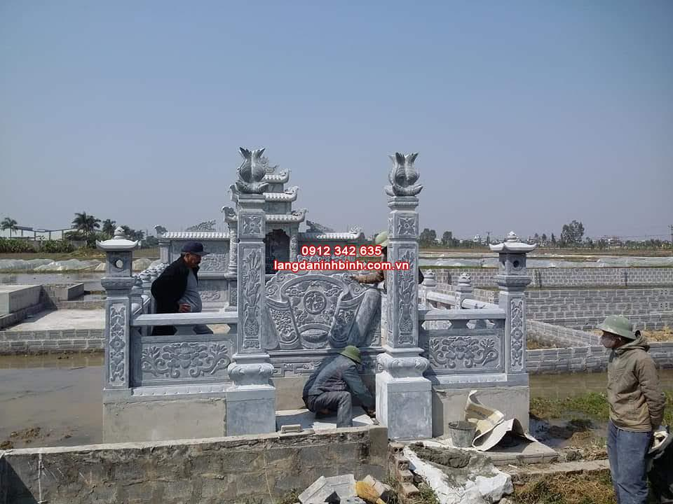 Những lưu ý khi thiết kế khu lăng mộ gia đình