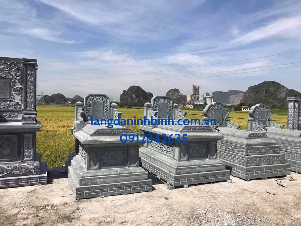 Mẫu mộ đá đẹp, hợp phong thủy