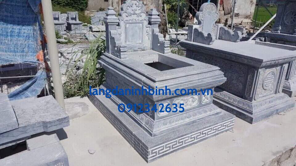 Mẫu mộ đá đẹp, hợp phong thủy 2021