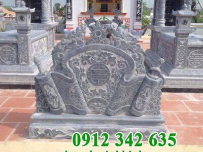 Mẫu cuốn thư đá lăng mộ đẹp