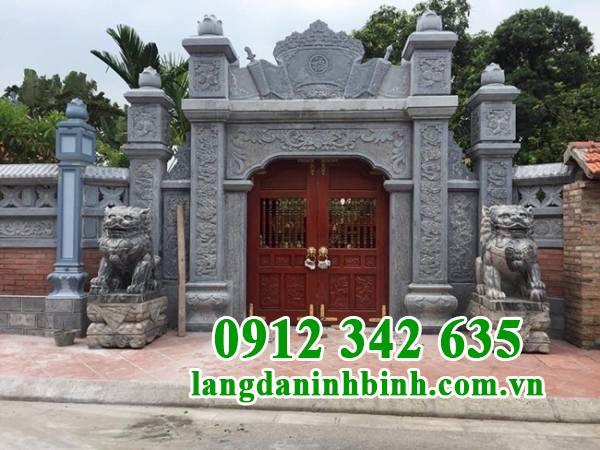 Ý nghĩa và kiến trúc cổng tam quan chùa bằng đá