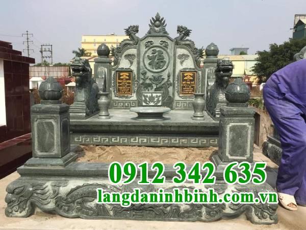 Ưu điểm của mộ đá xanh rêu Thanh Hóa
