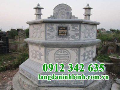 Ý nghĩa của mộ lục giác bằng đá