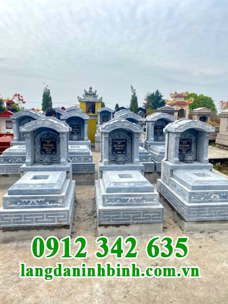 Mẫu mộ mái vòm bằng đá đẹp