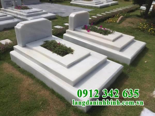 Mẫu mộ đơn giản, hiện đại