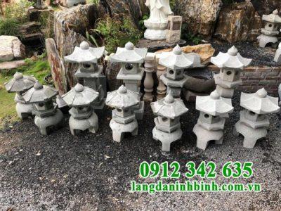 Địa chỉ thiết kế đèn đá sân vườn biệt thự kiểu Nhật đẹp