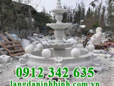 Mẫu đài phun nước bằng đá tự nhiên đẹp