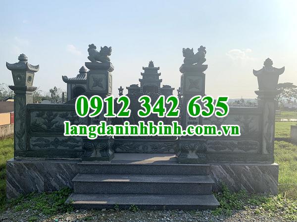 Thiết kế mộ tổ bằng đá ý nghĩa