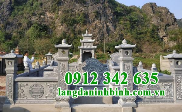 Lăng mộ đá dựa núi hợp phong thủy