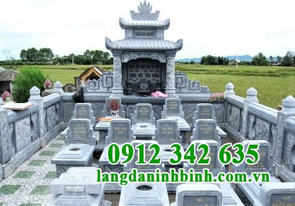 Mẫu lăng mộ đá Ninh Bình đẹp