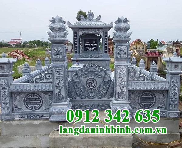 Kiến trúc tổng thể khu lăng mộ